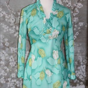 Rare authentic 60s Maxi dress